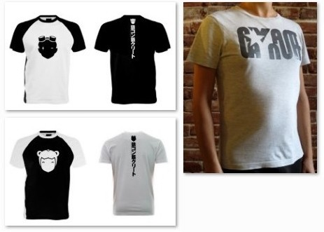 Tshirts, logos...